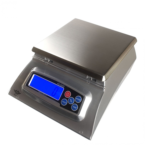 Keukenweegschaal KD-8000 - 8000 x 1 g | My Weigh